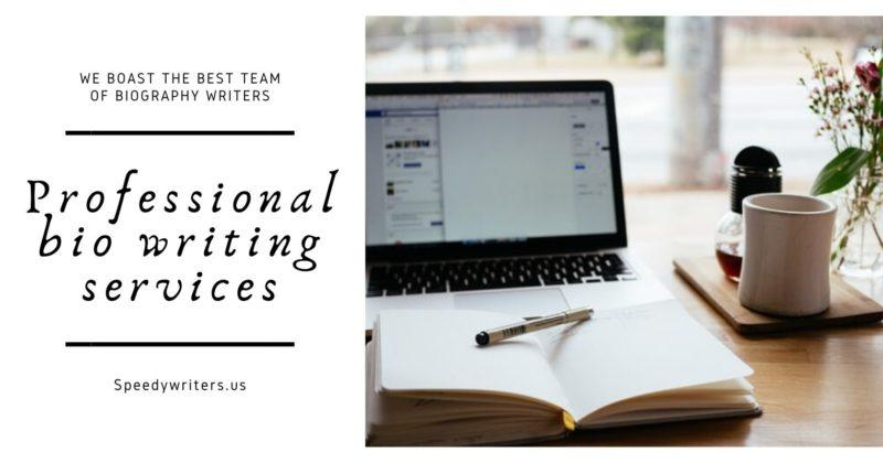 Professional bio writing services