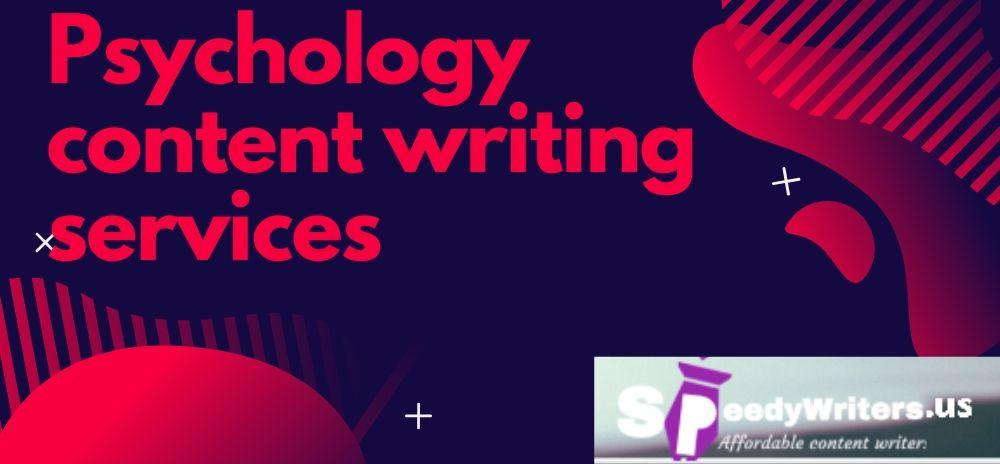 psychology content writing services