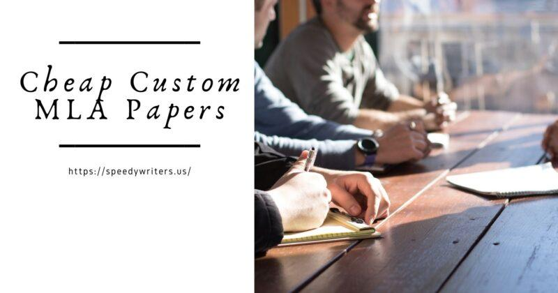 Cheap Custom MLA Papers
