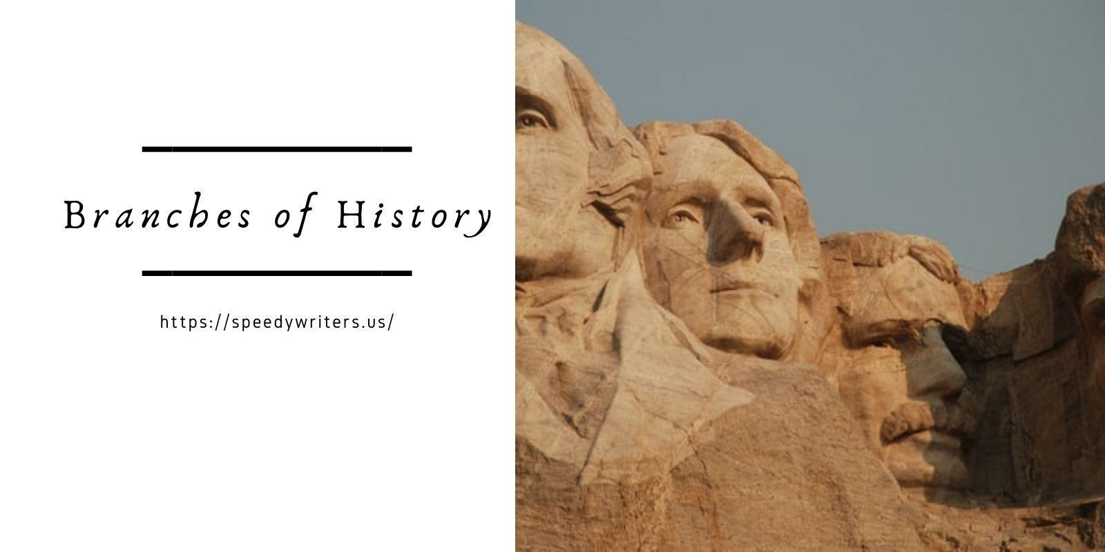 Branches of History